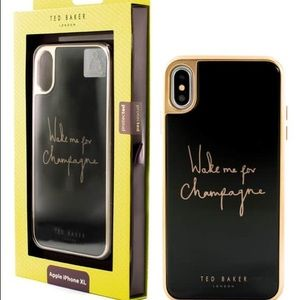 "Ted Baker ""Champagne"" iPhone X/XS Case"